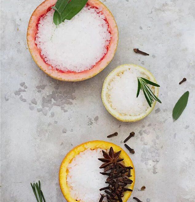 3 spôsoby ako osviežiť vzduch pomocou citrusov