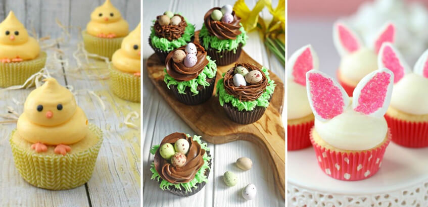 Upeč si svoje originálne veľkonočné cupcakes