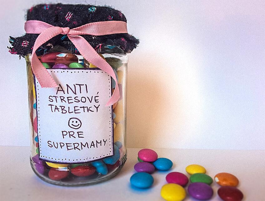 Milá pozornosť nielen na deň matiek – ANTI-stresové tabletky