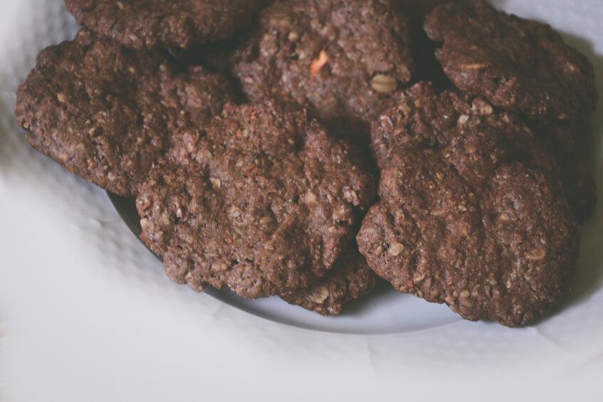 Mrkvové fit keksíky